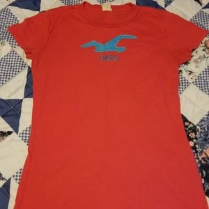 Ladies Juniors Hollister Shirt Size Large
